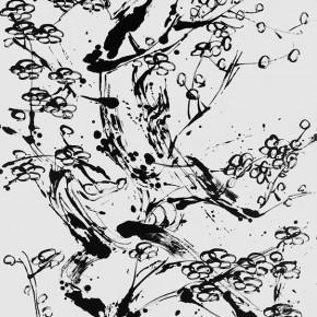 LR.Pekin Fine Arts. Wesley Tongson. Plum Blossom. 180x97cm.2011.Chinese Ink Painting 290x290 - Pékin Fine Arts presents Wesley Tongson Solo Exhibition in Beijing