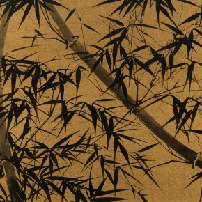 LR.Pekin Fine Arts. Wesley Tongson.Bamboo. 71.1x96cm.1995.Chinese Ink Painting 290x290 - Pékin Fine Arts presents Wesley Tongson Solo Exhibition in Beijing