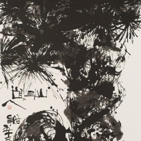 LR.Pekin Fine Arts. Wesley Tongson.Pine No. 1123Ink on Xuan Paper180 x 97 cm2010 290x290 - Pékin Fine Arts presents Wesley Tongson Solo Exhibition in Beijing