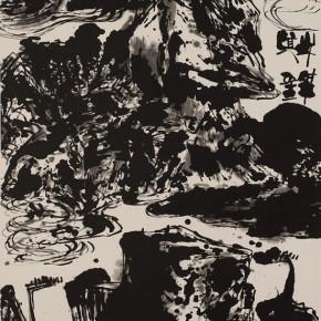 LR.Pekin Fine Arts. Wesley Tongson.Spiritual Mountains No. 1012Ink on Xuan Paper180 x 97 cm2011 290x290 - Pékin Fine Arts presents Wesley Tongson Solo Exhibition in Beijing