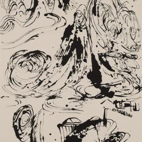 LR.Pekin Fine Arts. Wesley Tongson.Spiritual Mountains No. 595Ink on Xuan Paper180 x 97 cm 2010 290x290 - Pékin Fine Arts presents Wesley Tongson Solo Exhibition in Beijing