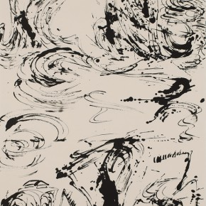 LR.Pekin Fine Arts. Wesley TongsonSpiritual Mountains No. 1496Ink on Xuan Paper180 x 97 cm2012 290x290 - Pékin Fine Arts presents Wesley Tongson Solo Exhibition in Beijing
