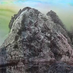 LR.SoldPekin Fine Arts. Wesley Tongson. Landscape 02.66x96cm.1996.Chinese Ink Painting 290x290 - Pékin Fine Arts presents Wesley Tongson Solo Exhibition in Beijing