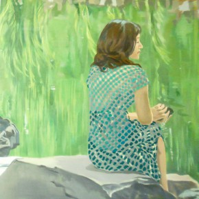 Shao Ran, Tranquil Taste in Home Garden, 2011; Oil on canvas, 120x150cm