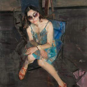 Yang Canjun Portrait of Li Qing 2013 Oil on canvas 290x290 - Pursuit Of Excellence: Artists From Academy – The First National-Wide Tour Exhibition Of Oil-Painting Presented in NAMOC