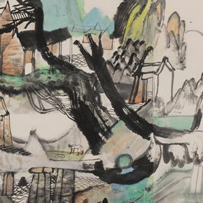 """Academic Righteousness during a Leisurely Tour: Yao Mingjing's """"Appearances Formed by Thoughts"""" Exhibiting at the National Art Museum of China"""