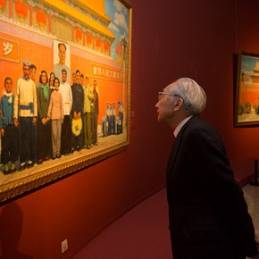 """Creator of the Group Portraits of the Epoch: """"Once and Forever"""" Sun Zixi Art Exhibition Opened at the National Art Museum of China"""