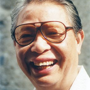 01 Luo Gongliu in his later years