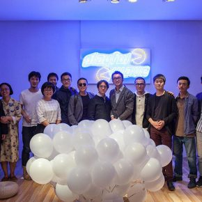 """02 Group photo of the honored guests 290x290 - Today Art Museum presents """"2016 Finding Friends: Gravitational Waves"""": When """"Art Stars"""" Run into a """"Drama Star"""""""
