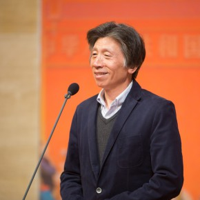 03 President of CAFA Fan Di'an addressed the opening ceremony