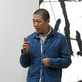 "04 Curator Li Xu 290x290 - ""Oriental Abstraction VS Western Figuration: A Dialogue between Tan Ping & Castelli"" Exhibited in Shanghai"