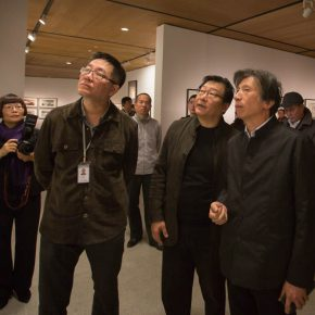 """10 The honored guests visiting the exhibition 290x290 - """"The Adamantine Soul – A Zhang Ping Retrospective"""" grandly opened at CAFA Art Museum"""