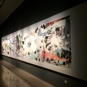 """11 Exhibition View of""""Appearances Formed by Thoughts""""  290x290 - Academic Righteousness during a Leisurely Tour: Yao Mingjing's """"Appearances Formed by Thoughts"""" Exhibiting at the National Art Museum of China"""