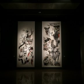 """12 Exhibition View of""""Appearances Formed by Thoughts""""  290x290 - Academic Righteousness during a Leisurely Tour: Yao Mingjing's """"Appearances Formed by Thoughts"""" Exhibiting at the National Art Museum of China"""