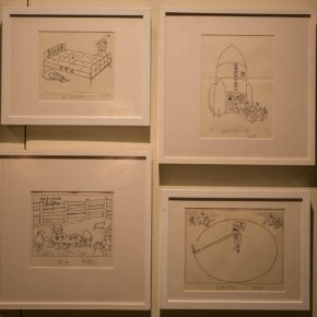 13 The exhibited work 2 290x290 - Humorous Form, Sagacious Thinking: Social Encyclopedia – An Exhibition of Wei Qimei's Cartoons Opened at CAFA Art Museum