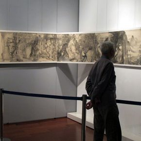 "14 Exhibition view of ""Flowers and Ink Play – Invitational Exhibition of Young Artists of Chinese Painting"" 290x290 - Yan Huang Art Museum 2016 Spring Art Festival Unveiled Four Thematic Events"