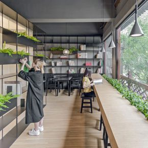 15  Rongbaozhai Coffee Bookstore – the Second Floor No.1