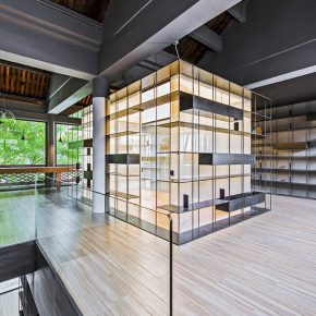 "16 Rongbaozhai Coffee Bookstore – the Second Floor No.2 290x290 - Architecture as a ""Medium"": the CAFA Young Teacher Han Wenqiang was awarded the ""A+ Award"""