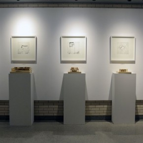 "18 Exhibition view of ""Spatial Cognition and Performance Initial Design 2 Teaching Exhibition"""