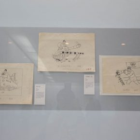 18 The exhibited work 290x290 - Humorous Form, Sagacious Thinking: Social Encyclopedia – An Exhibition of Wei Qimei's Cartoons Opened at CAFA Art Museum