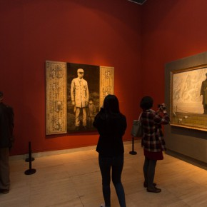 """19 Exhibition view of """"Once and Forever"""" Sun Zixi Art Exhibition  290x290 - Creator of the Group Portraits of the Epoch: """"Once and Forever"""" Sun Zixi Art Exhibition Opened at the National Art Museum of China"""