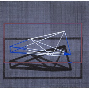 2 Tang Mingwei Construction 4c 2016 Mixed Media on Canvas 90x120cm 290x290 - Abstraction x Geometry: Su Yi & Tang Mingwei Exhibiting at Asia Art Center in Beijing