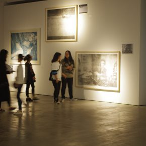 """22 Exhibition View of""""Scenery Shot – Unrelated to Photography"""" 290x290 - The group exhibition of """"Scenery Shot – Unrelated to Photography"""" was unveiled in New Gallery of Art"""