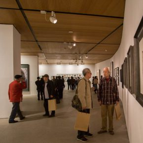 """22 Exhibition view of """"The Adamantine Soul A Zhang Ping Retrospective""""  290x290 - """"The Adamantine Soul – A Zhang Ping Retrospective"""" grandly opened at CAFA Art Museum"""