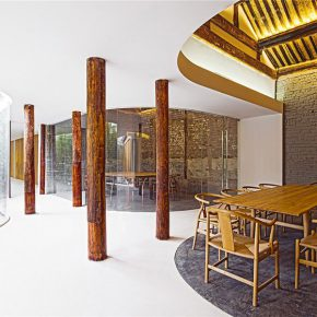"24 Beijing Tea House in Hutong 290x290 - Architecture as a ""Medium"": the CAFA Young Teacher Han Wenqiang was awarded the ""A+ Award"""