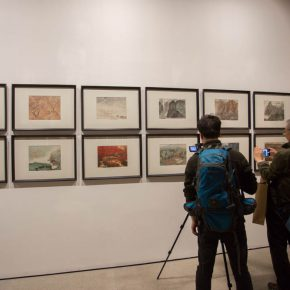 """24 Exhibition view of """"The Adamantine Soul A Zhang Ping Retrospective""""  290x290 - """"The Adamantine Soul – A Zhang Ping Retrospective"""" grandly opened at CAFA Art Museum"""