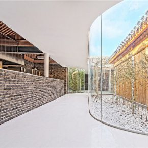 "25 Beijing Tea House in Hutong 290x290 - Architecture as a ""Medium"": the CAFA Young Teacher Han Wenqiang was awarded the ""A+ Award"""