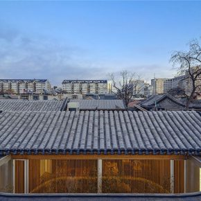 "27 Beijing Tea House in Hutong 290x290 - Architecture as a ""Medium"": the CAFA Young Teacher Han Wenqiang was awarded the ""A+ Award"""