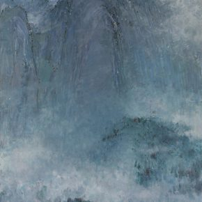 28 Luo Gongliu, Jinggang Mountain, oil on canvas, 284 x 223 cm, 1960, in the collection of National Museum of China