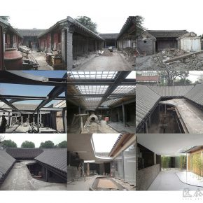 29 Beijing Tea House in Hutong –construction