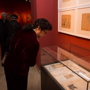 """29 Exhibition view of """"Once and Forever"""" Sun Zixi Art Exhibition  290x290 - Creator of the Group Portraits of the Epoch: """"Once and Forever"""" Sun Zixi Art Exhibition Opened at the National Art Museum of China"""