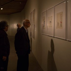 34 Exhibition view of the Social Encyclopedia – An Exhibition of Wei Qimei's Cartoons 290x290 - Humorous Form, Sagacious Thinking: Social Encyclopedia – An Exhibition of Wei Qimei's Cartoons Opened at CAFA Art Museum