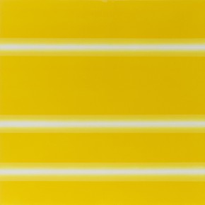 6 Su Yi Restraint Light Beam Three Warm Yellow 2015 Mixed Media on Canvas 150×150cm 290x290 - Abstraction x Geometry: Su Yi & Tang Mingwei Exhibiting at Asia Art Center in Beijing