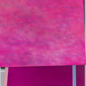 Enrico BACH B.T.D.T. Magenta 2014 Oil on Canvas 300 x 240cm 290x290 - Poétique: The 9th Annual Exhibition of Abstract Art Presented at PIFO Gallery