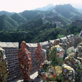 """H. A. Schult Great Wall People 2001 290x290 - Dialogue between H. A. Schulte and Ren Rong: """"We Are Environmental People"""""""