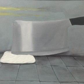 "Idi Pangestu Last Night Story 2008 Acrylic on canvas 150x200cm 290x290 - Soka Art Center presents ""Behind Foreign Lands – Southeast Asian Contemporary Art"" featuring 17 artists"