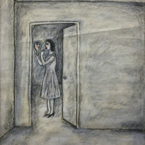 """Jose Legaspi Untitled 1 Single 2000 Pastel and charcoal on paper 91x61cm 290x290 - Soka Art Center presents """"Behind Foreign Lands – Southeast Asian Contemporary Art"""" featuring 17 artists"""