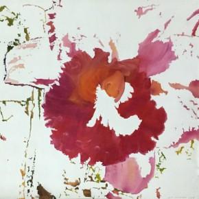"Kokok P. Sancokor Incomplete Series 22 2008 Mixed media 150x150cm 290x290 - Soka Art Center presents ""Behind Foreign Lands – Southeast Asian Contemporary Art"" featuring 17 artists"