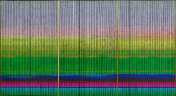 Liu Wei, The East No. 9, 2015-2016; Oil on canvas, 300x540cm