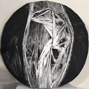 Stella Zhang, 0-Viewpoint-7-5, Diameter 26_, 2015