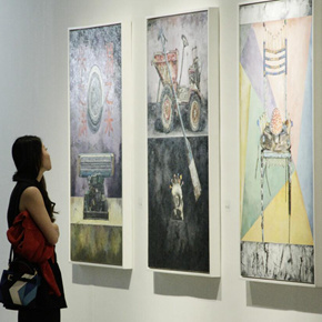 Another Visual Concern: the Research Exhibition on the Debut of the Visual Language of Oil Painting
