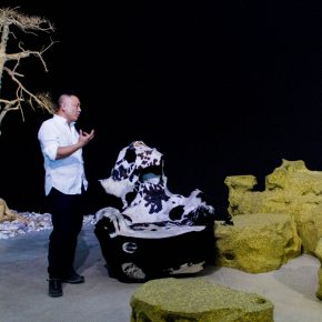 """02 The artist Shi Jinsong 290x290 - An Artist's Game about """"Designs"""" - Shi Jinsong: A Personal Design Show is a Cross-Strait Interactive Exhibition"""