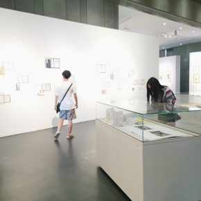 05 Exhibition view of the books art exhibition by the Studio 5, Printmaking Department at CAFA