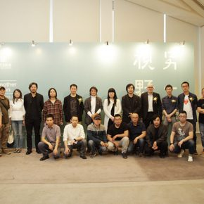 05 Group photo of the honored guests who were present at the opening ceremony  290x290 - Another Visual Concern: the Research Exhibition on the Debut of the Visual Language of Oil Painting