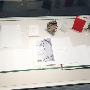 08 The artworks of books of the Studio 5 Printmaking Department at CAFA are on shown in the showcase  290x290 - Free Expression Beyond the Rule: Works by Studio 5, Printmaking Department at CAFA debuted at the Chinese Printmaking Art Festival