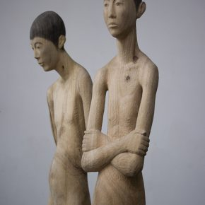 """13 Huang Zhitao Double Men 290x290 - 2016 """"Wang Shikuo Award"""" Nominated Exhibition Announced at Today Art Museum: Focusing on the Young Artist Groups"""